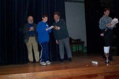 James Asquith Receiving Certificates